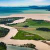 Flathead River dumps into Flathead Lake