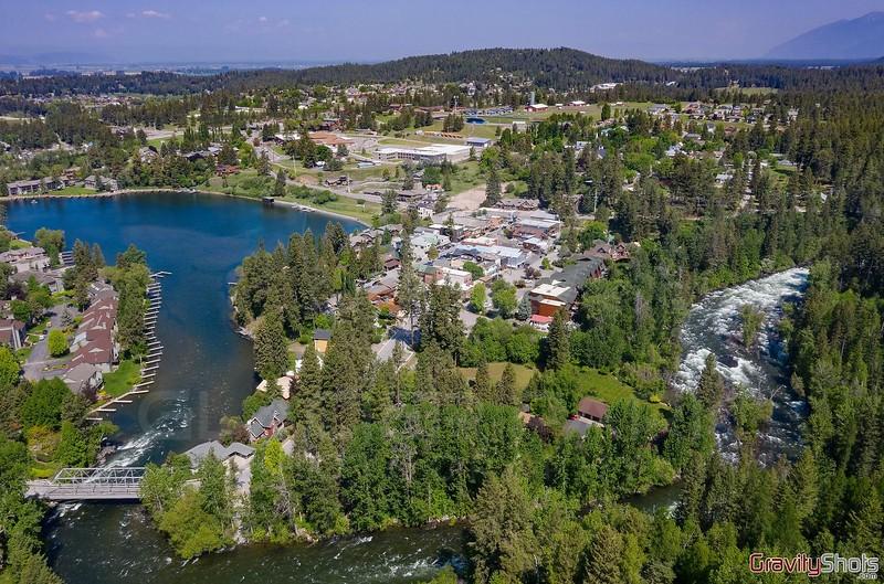 Bigfork Aerial View