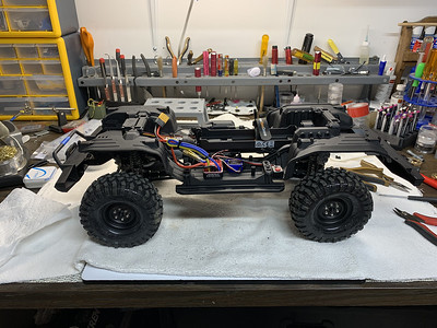 trx4 complete chassis