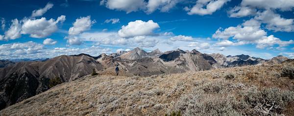 A scenic walk along the ridgeline.