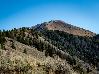 A closer look at the route up Grays Peak