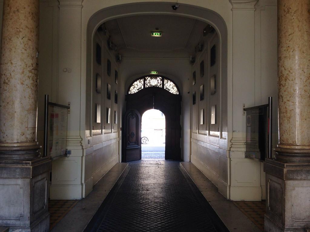 Eingang zum Literaturhaus