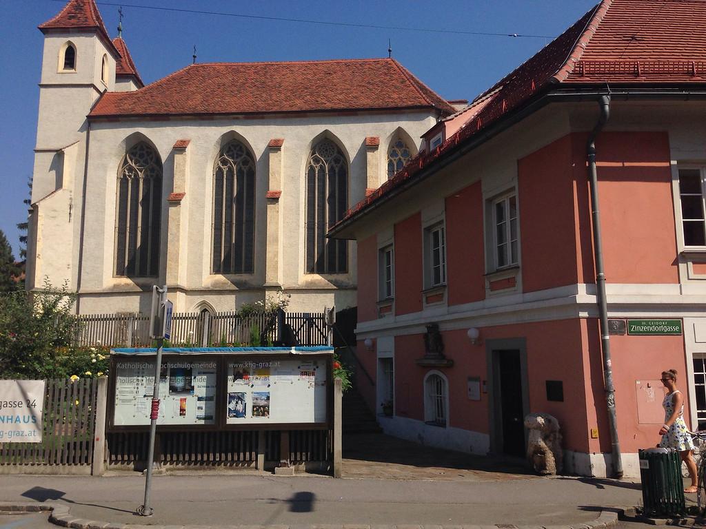 Universitätskirche und Deutschordenshaus