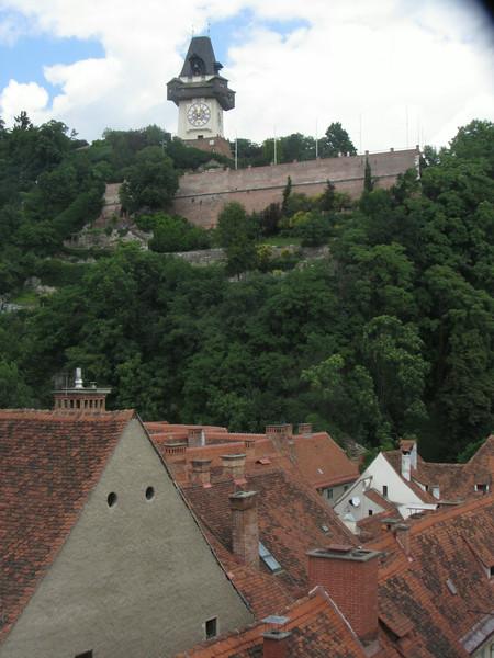 Schloßberg und Uhrturm