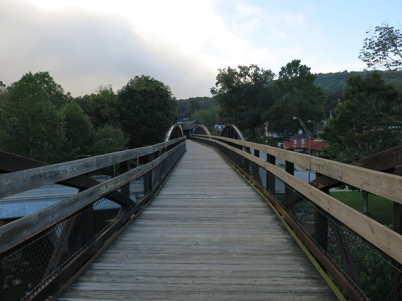 Low Bridge looking south towards Ohiopyle