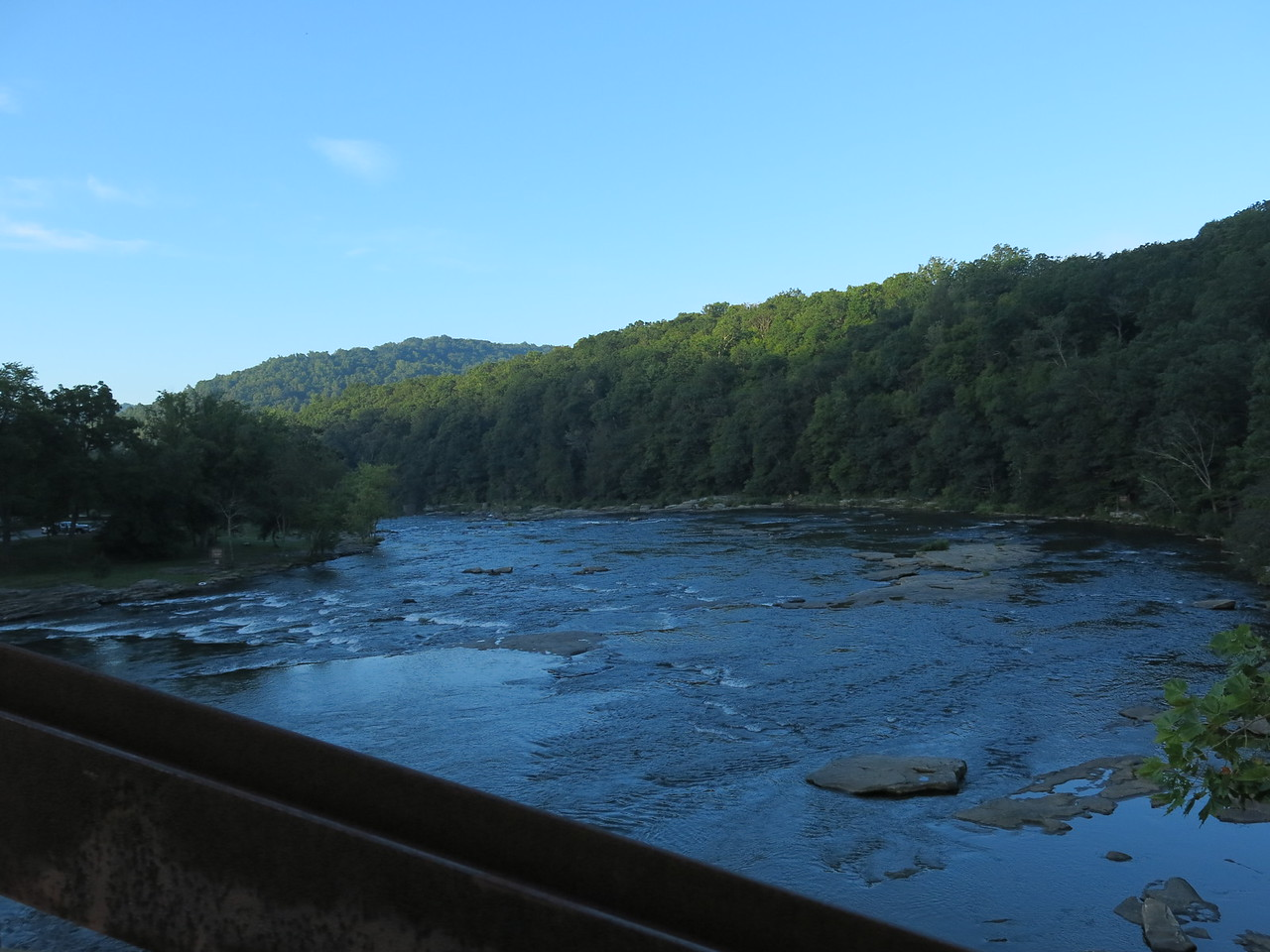Downstream view from Low Bridge