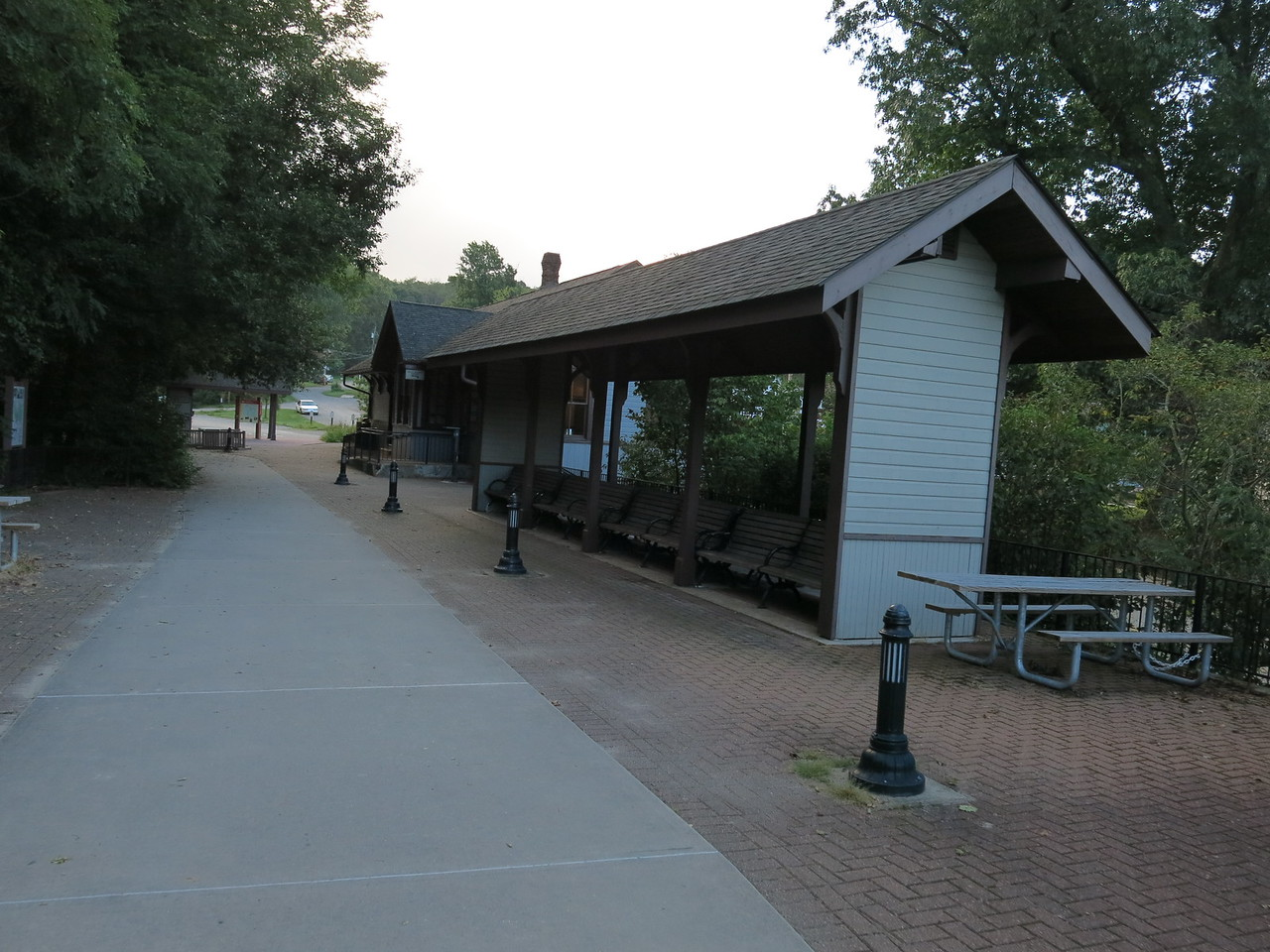 Ohiopyle train station and visitor center