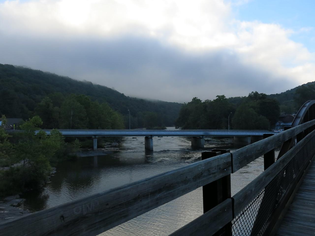Upstream view from Low Bridge