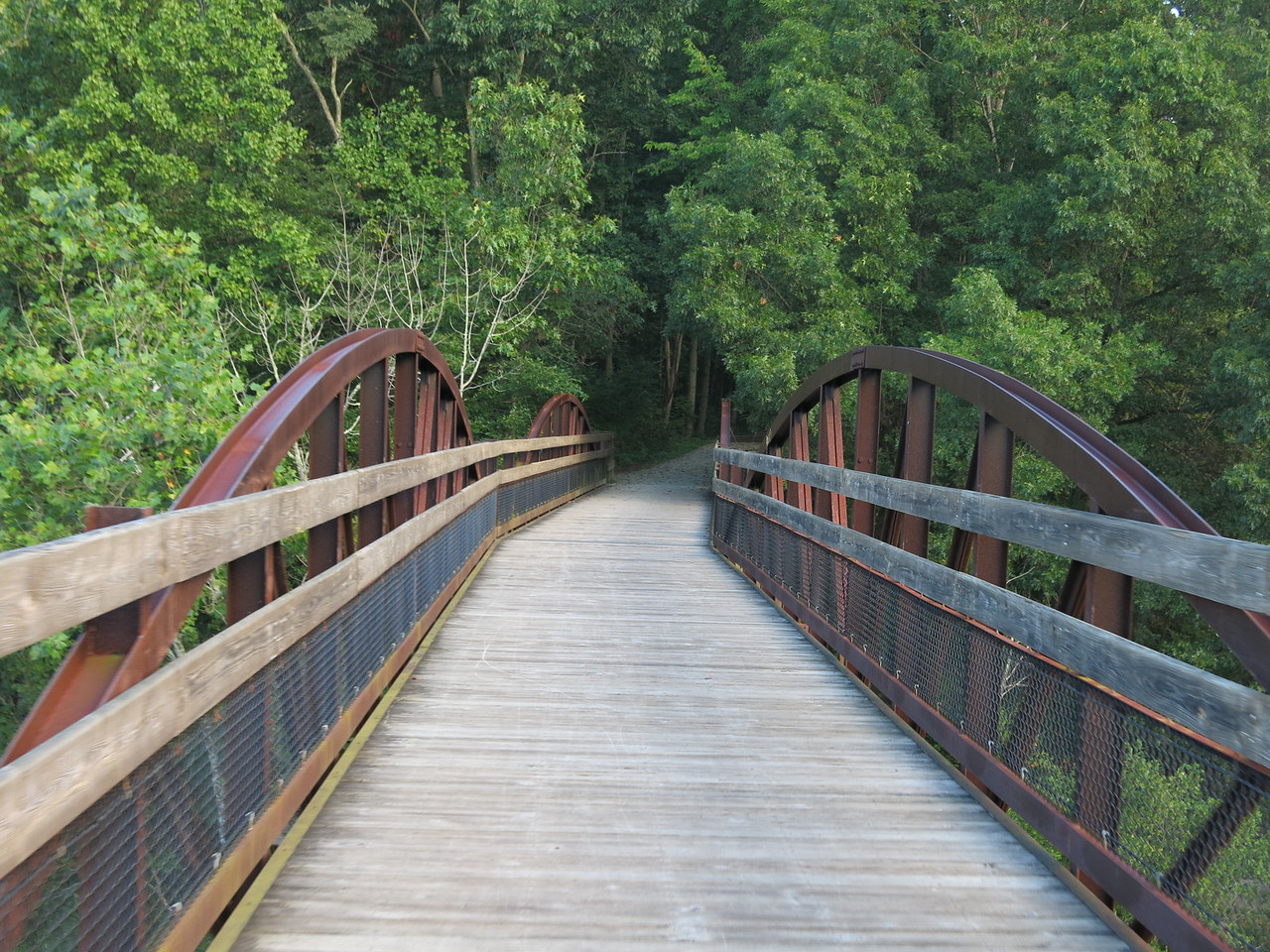 Leaving Low Bridge and entering the Ferncliff Peninsula