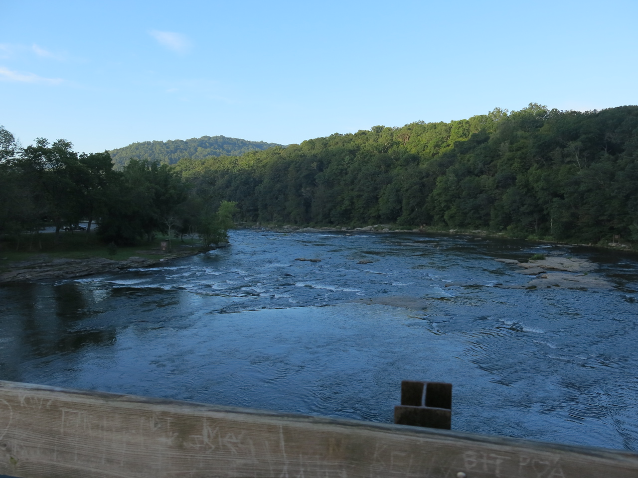Another downstream view from Low Bridge
