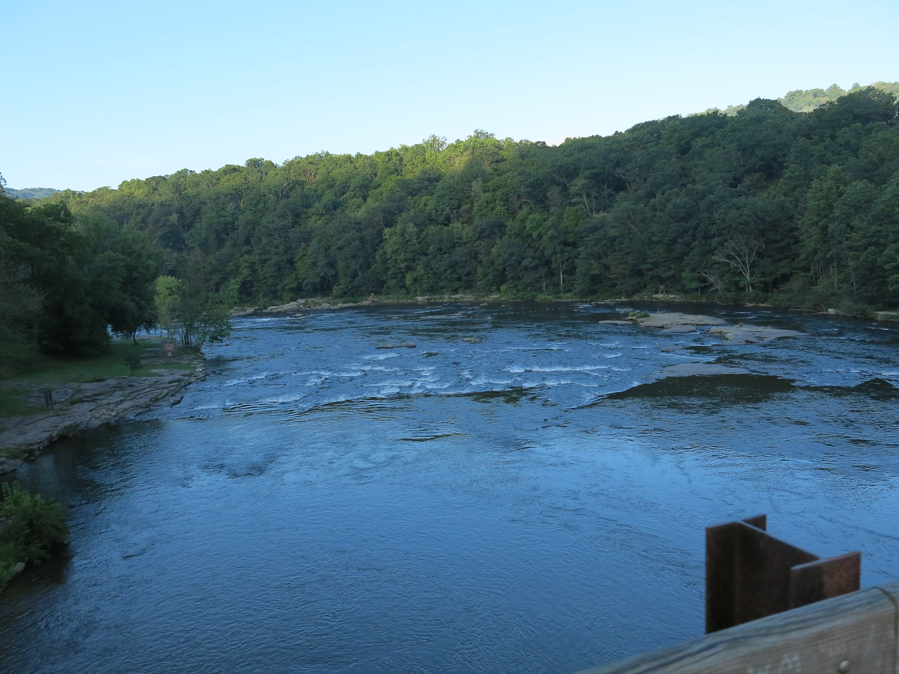 Still another downstream view