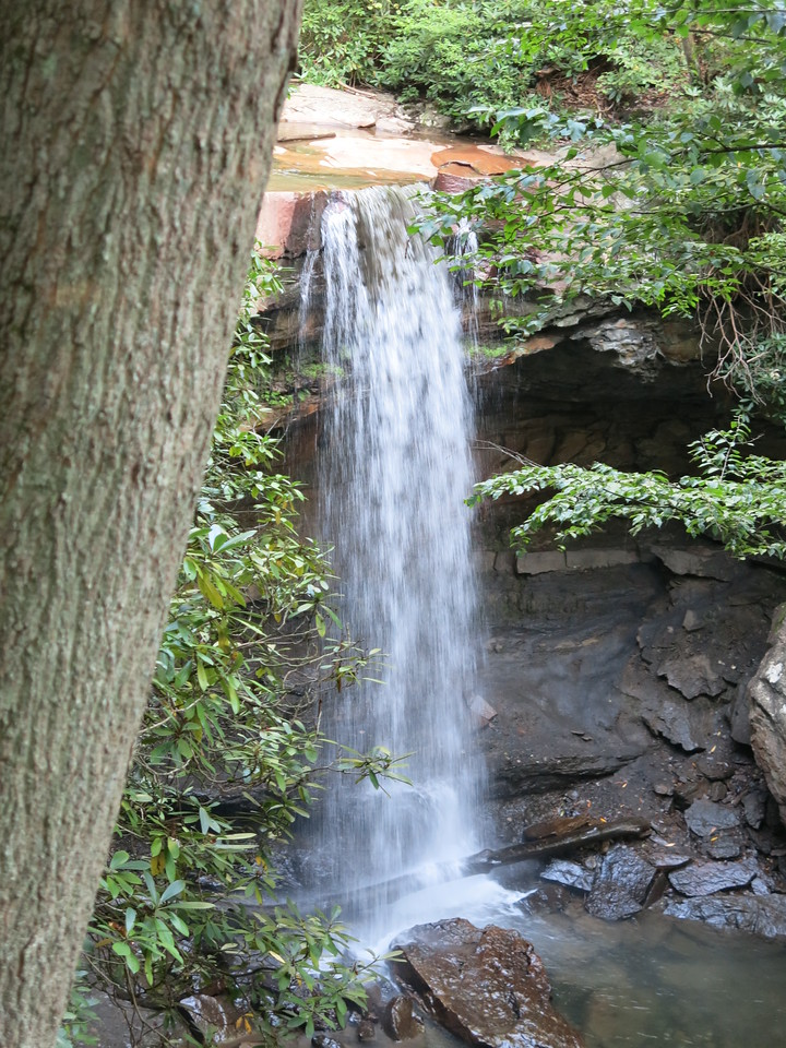 Another view of Cucumber Falls