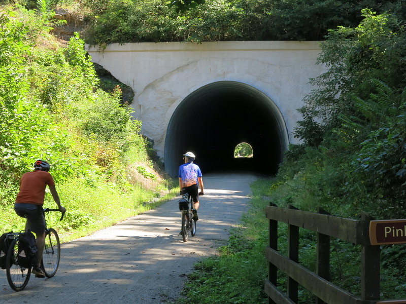 Gallery for riding into Pinkerton Tunnel