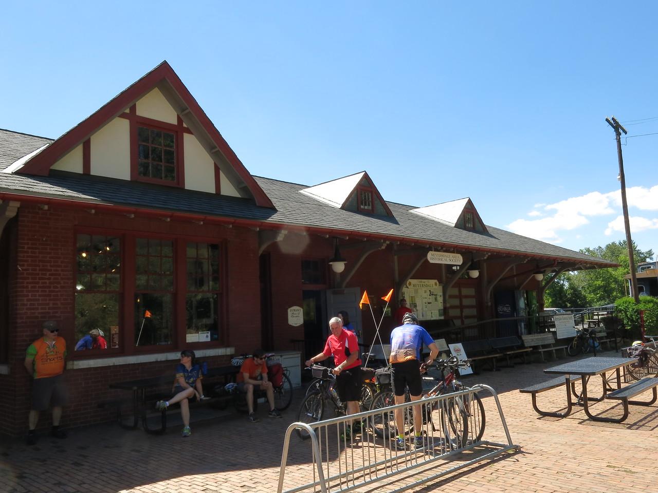 Visitor Center at Meyersdale