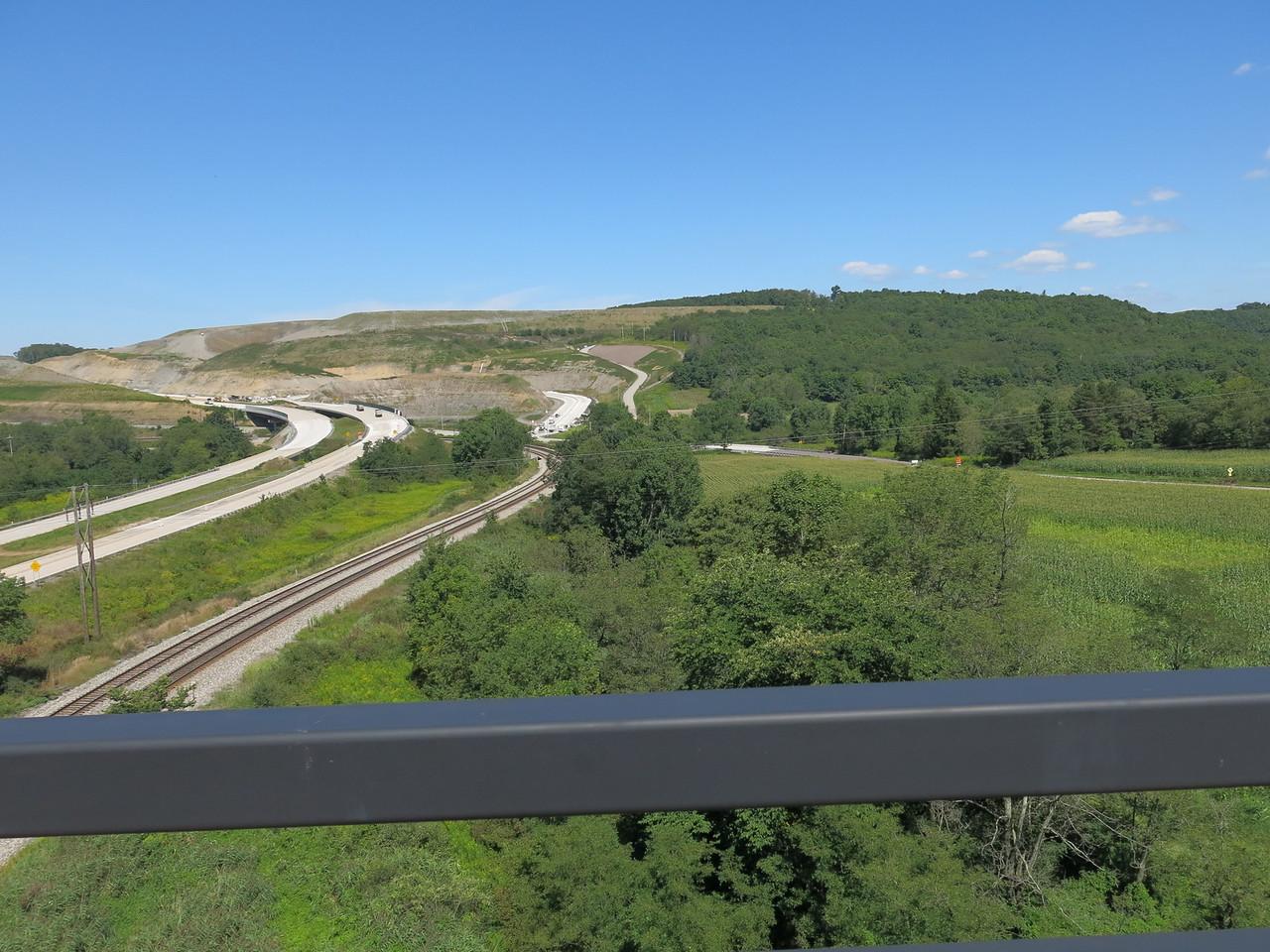 Railroad looking north