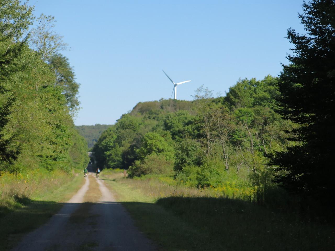 Land of wind mills