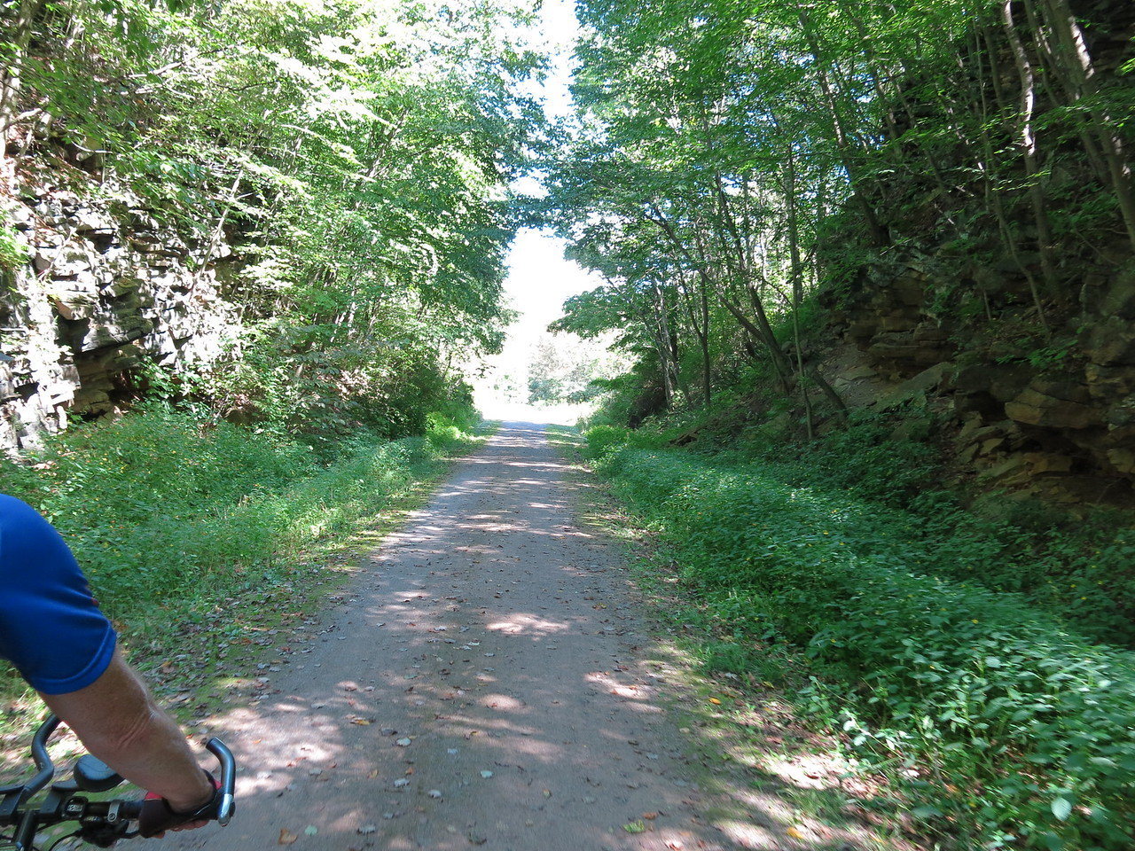 Leaving Meyersdale at MP 32