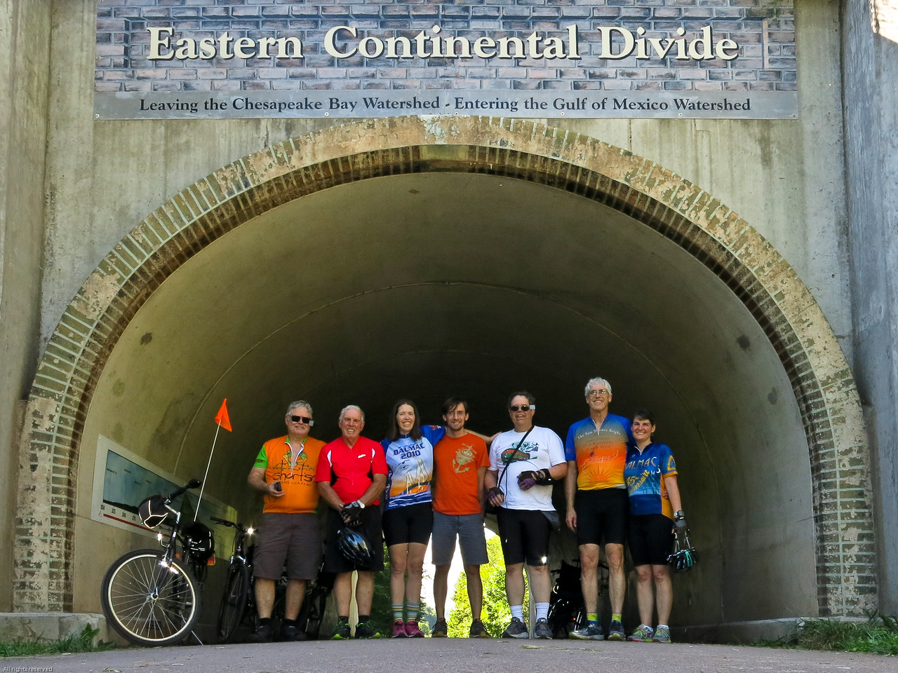 The Eastern Continental Divide at MP 23.5
