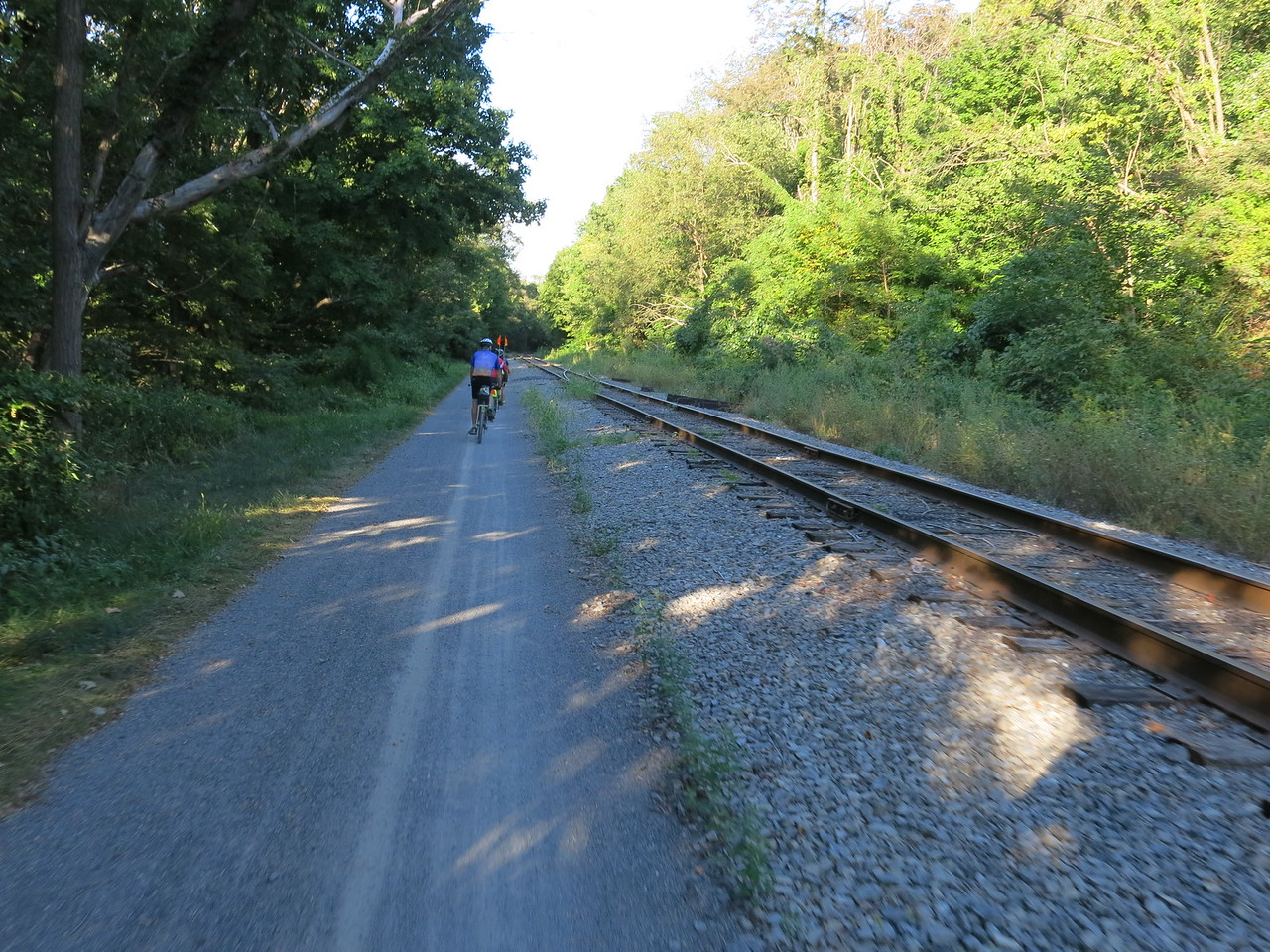 GAP trail and WMSR rails