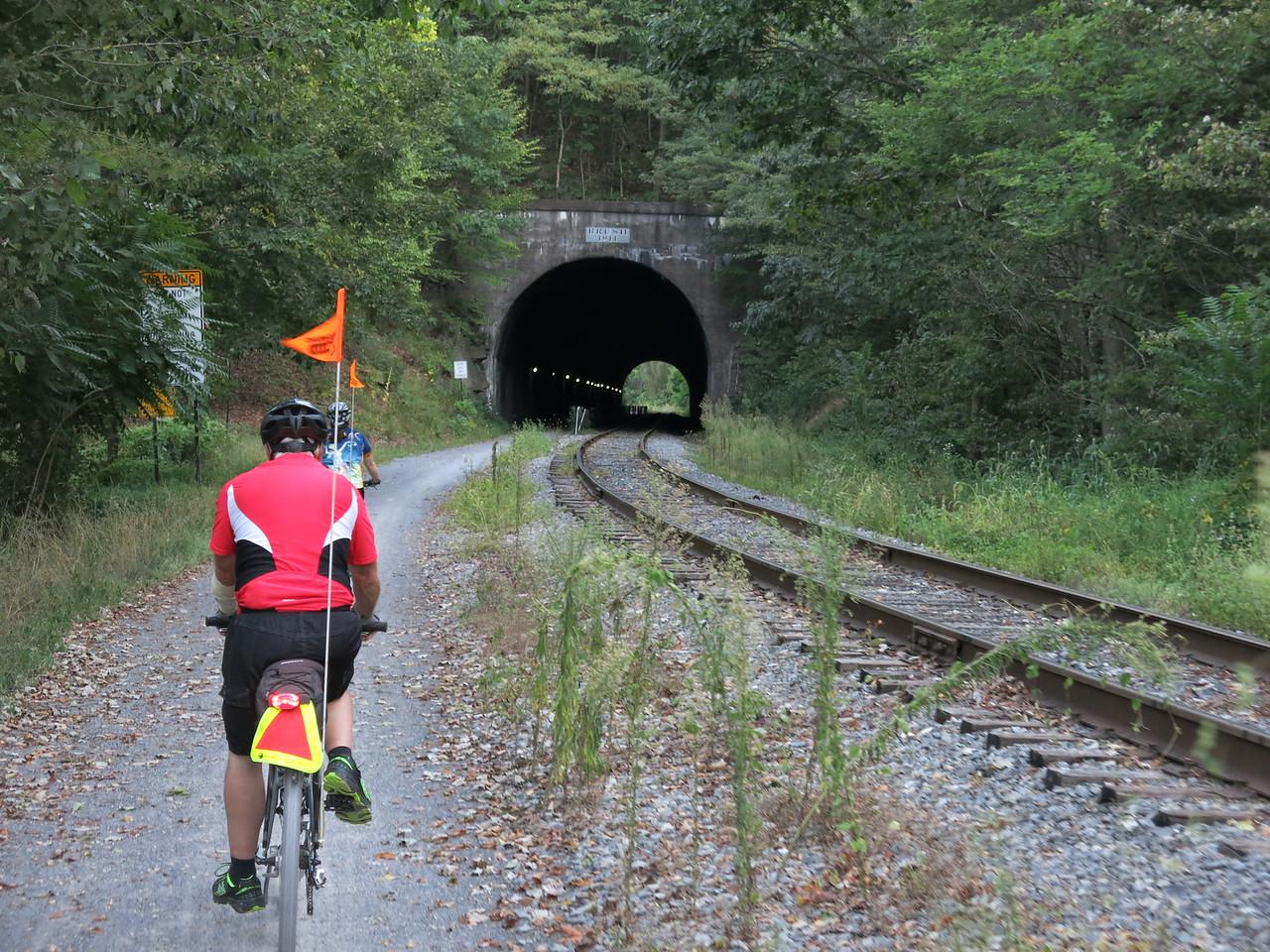 Brush Tunnel at MP 6