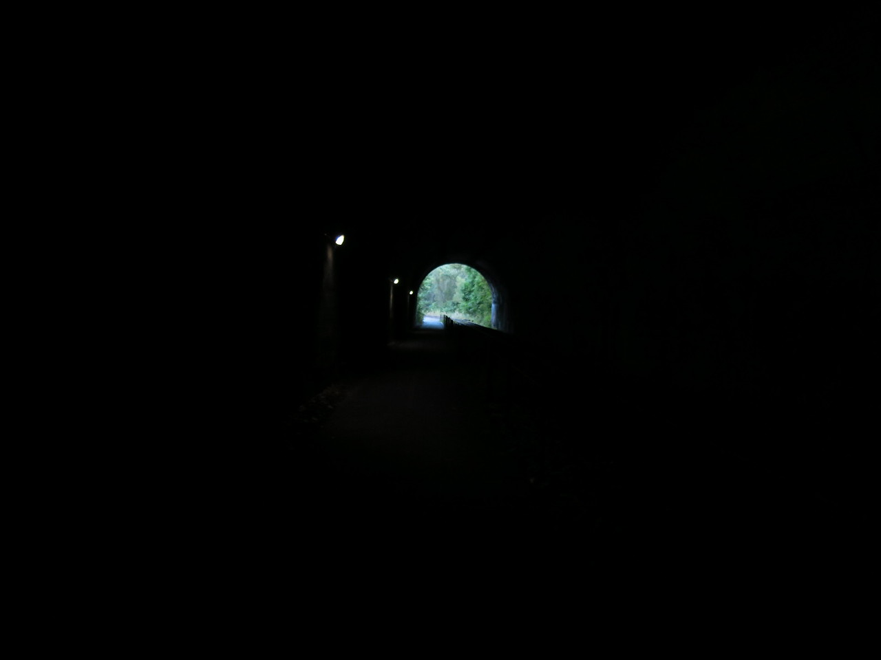 Lights in the tunnel and a light at the end of the tunnel