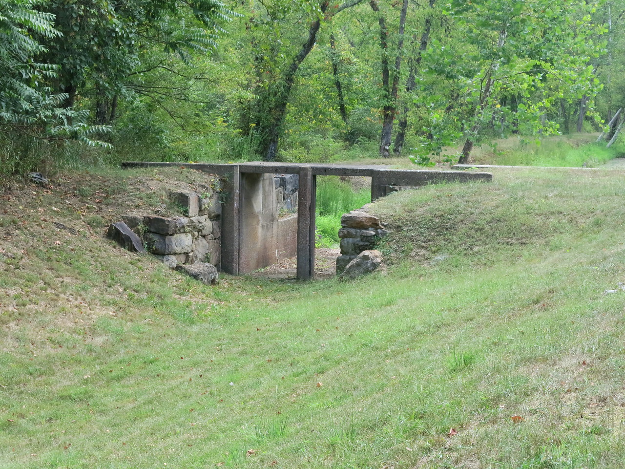 Spillway at Lock 71