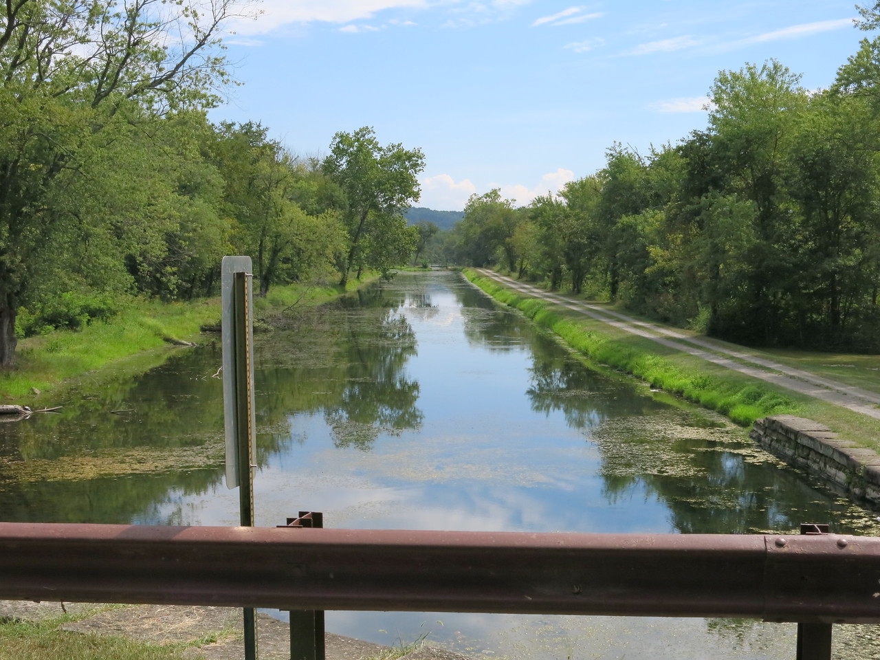 Looking downstream from Lock 70