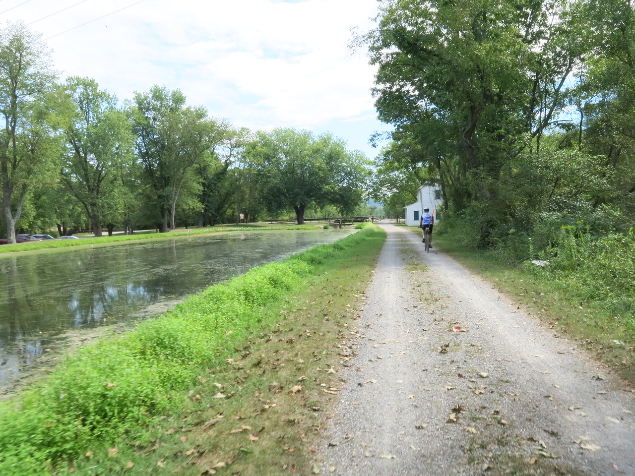 Approaching Lock 70 at MP 166.7