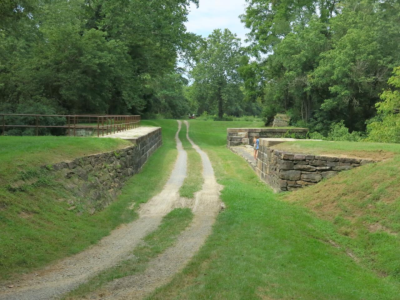 Town Creek Aqueduct MP 162