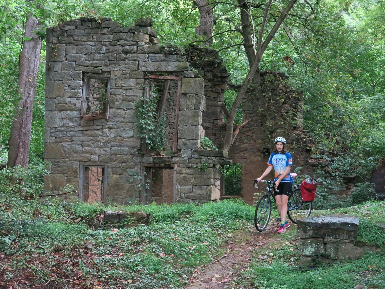 Charles Mill ruins, MP 108
