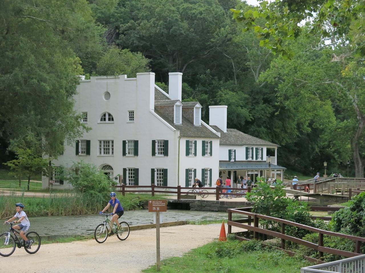 Great Falls Tavern Visitor Center at MP 14.4