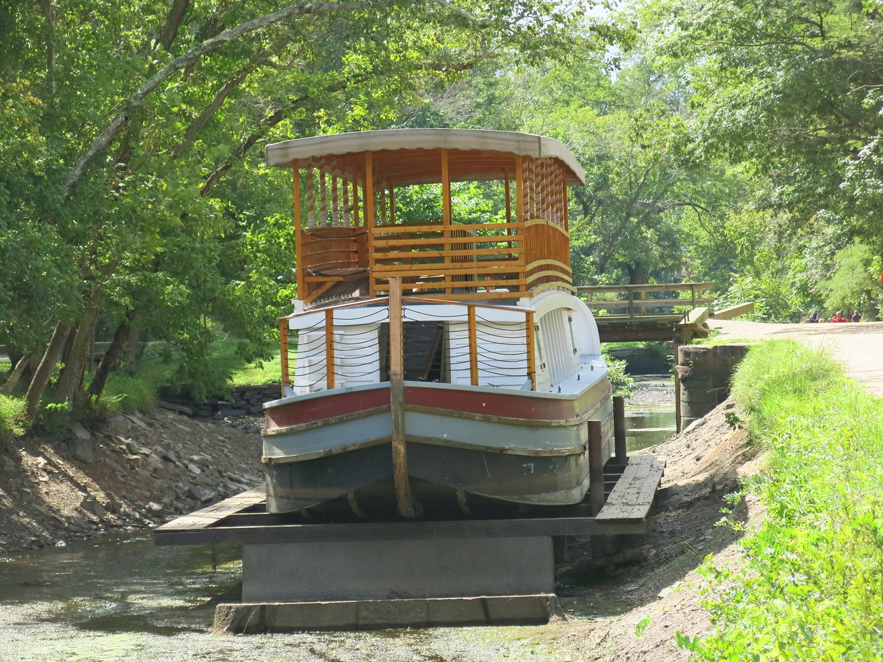 Canal Boat -- The Charles F Mercer