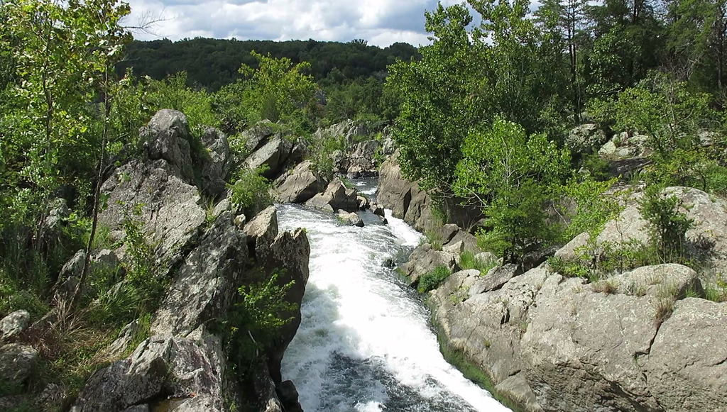 Video, Day 6 C&O Canal - Great Falls of the Potomac at MP 14.3