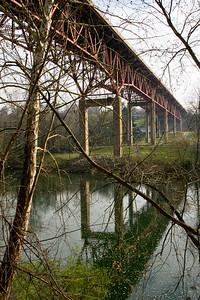 Interstate 70 bridge over the Yough