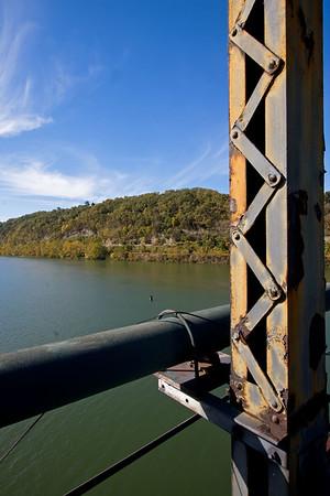 Monongahela River from the Riverton Bridge