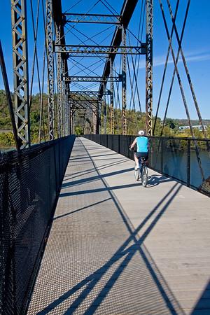 Riverton Bridge headed toward Duquesne