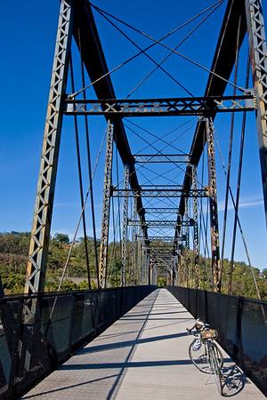 Riverton Bridge heading toward Duquesne