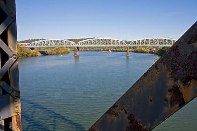McKeesport-Duquesne Bridge from Riverton Bridge