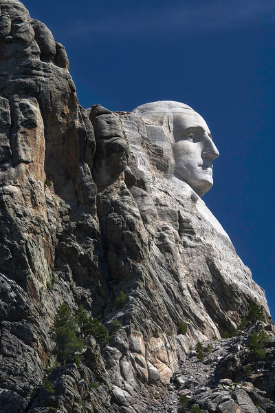 Mount Rushmore National Memorial; South Dakota; USA