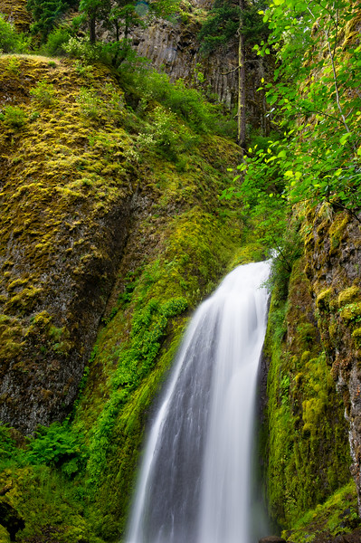 Wahkeena Falls; Columbia River Gorge; Oregon; USA
