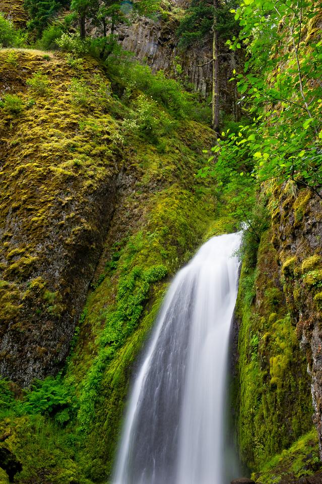 Wahkeena Falls; Columbia River Gorge; Oregon; USA
