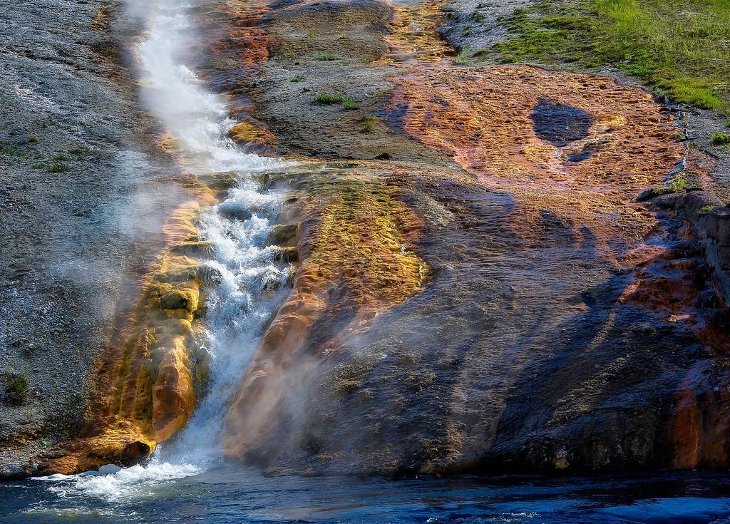 Grand Prismatic; Yellowstone National Park; Wyoming; USA