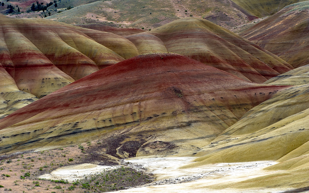 Painted Hills; John Day Fossil Beds National Monument; Oregon; USA