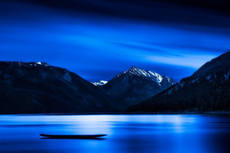 Wallowa Lake; Oregon; USA