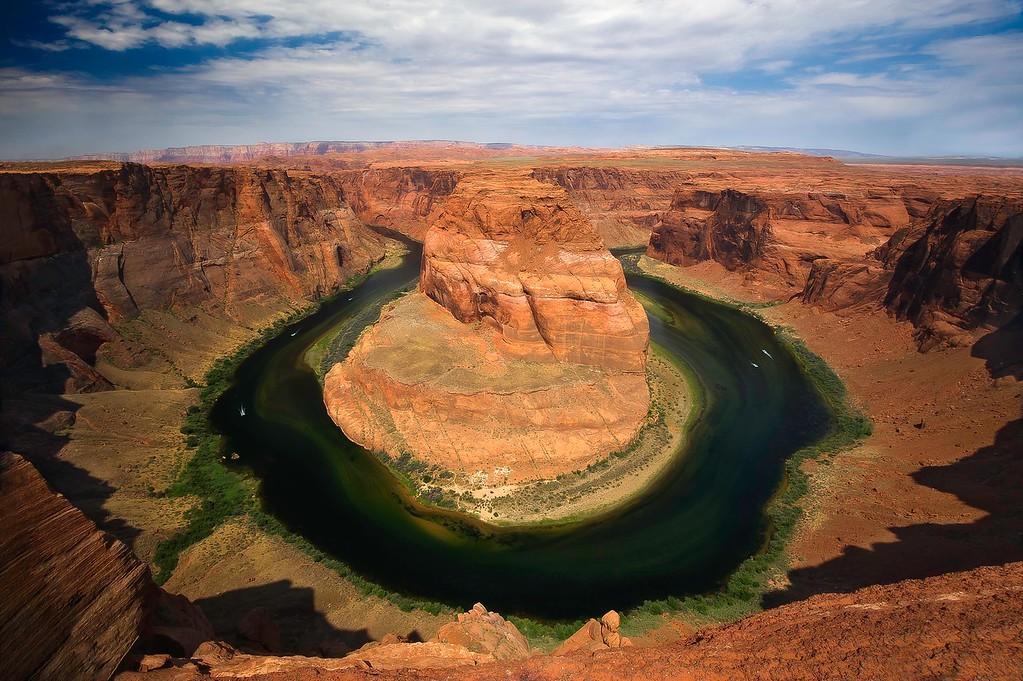 Horseshoe Bend; Colorado River; Page; Arizona; USA
