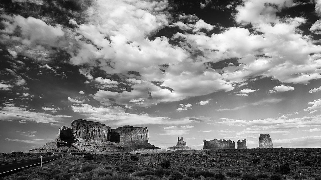 Monument Valley; Arizona; USA