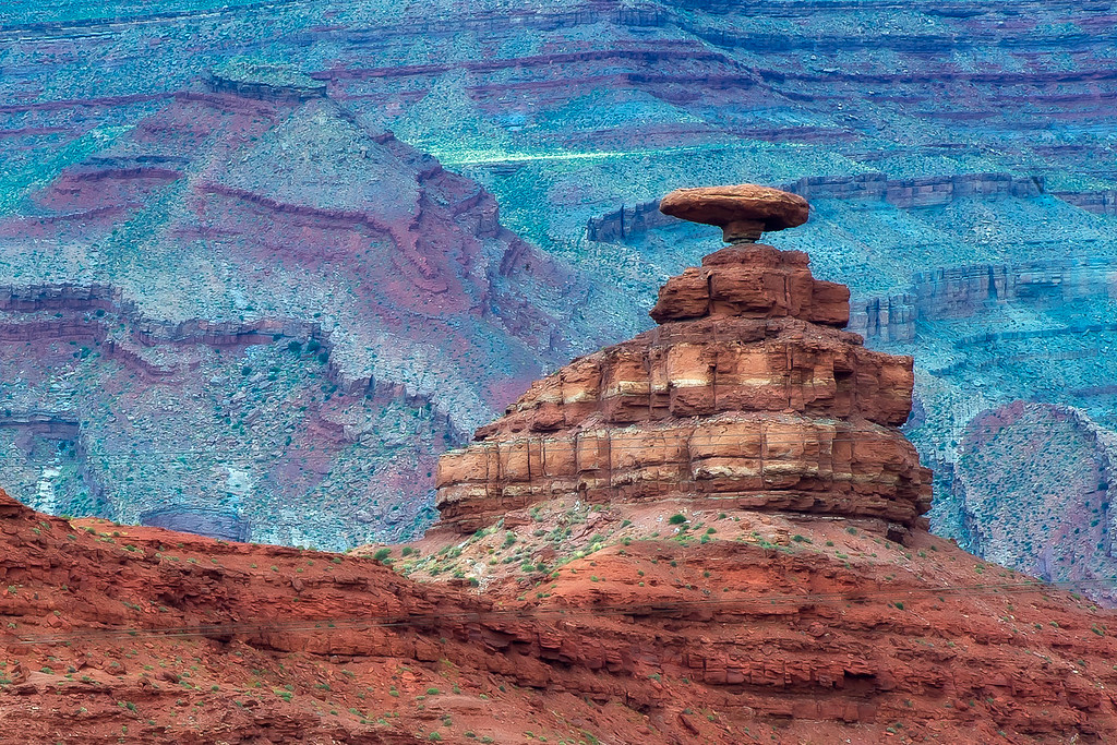 Mexican Hat; Monument Valley; Arizona; USA