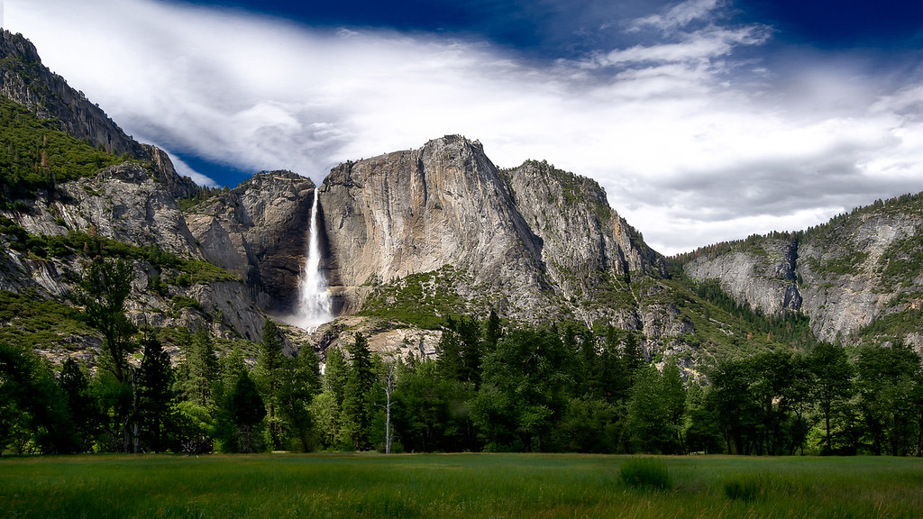 Upper Yosemite Fall; Yosemite National Park; California; USA
