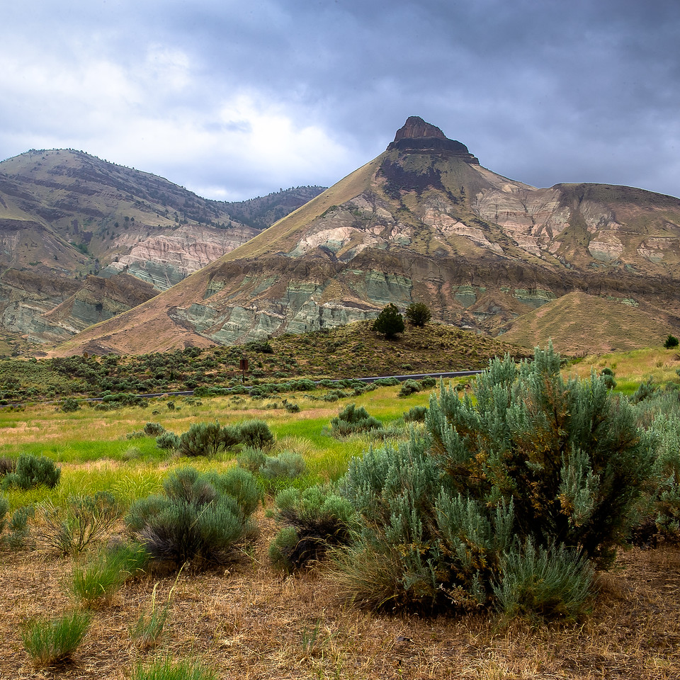 John Day Fossil Beds National Monument; Oregon; USA