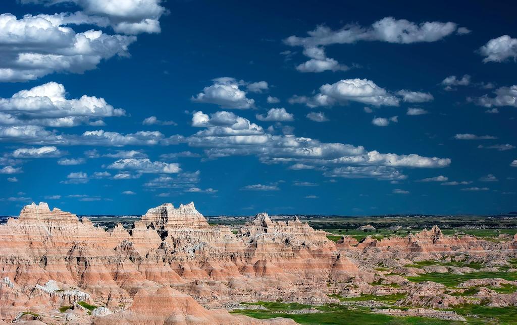 Badlands National Park; South Dakota; USA